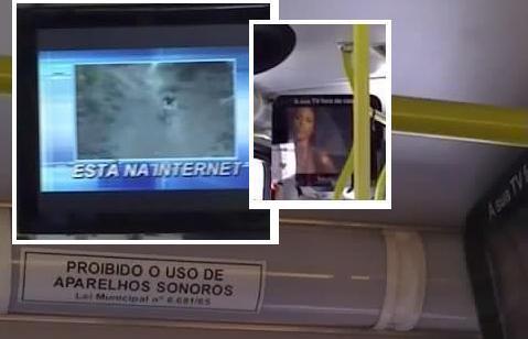 TV ônibus São Paulo